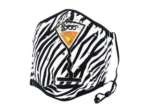 Boo Mixer Zebra Mask