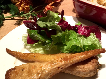 PASTINACHE AL FORNO / BAKED PARSNIPS