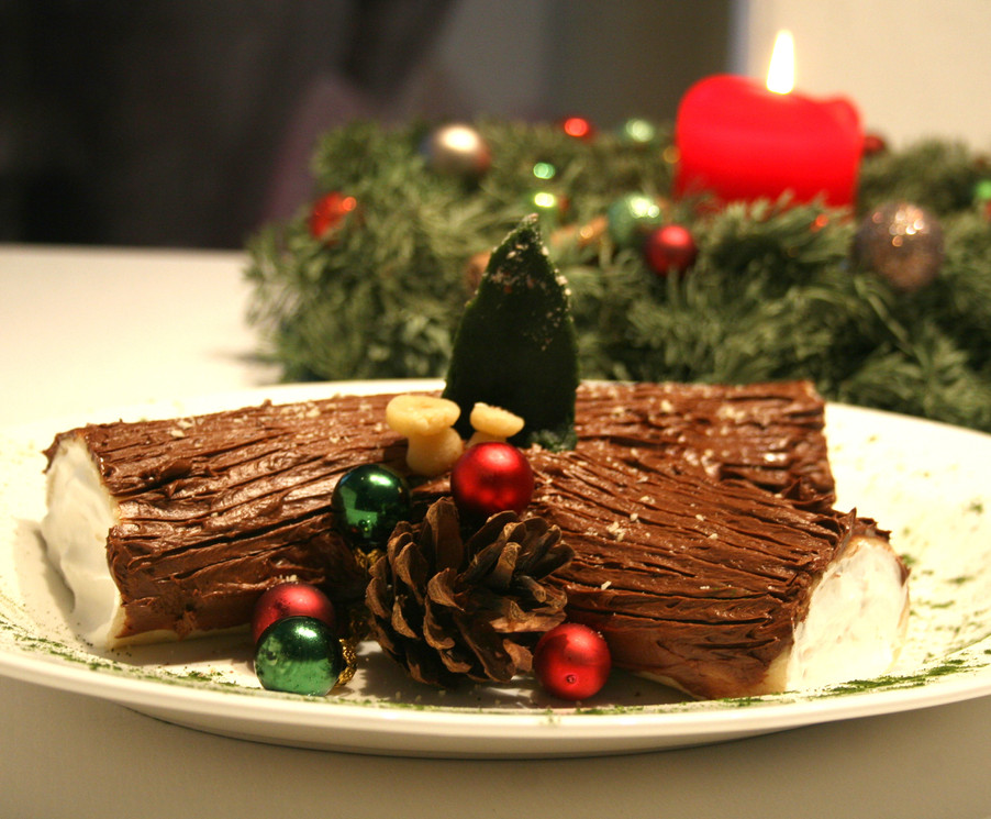 TRONCHETTO NATALIZIO / CHRISTMAS YULE LOG