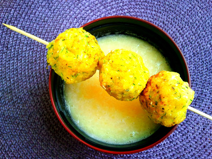 POLPETTE DI MIGLIO E VERDURE / VEGETABLE AND MILLET BALLS