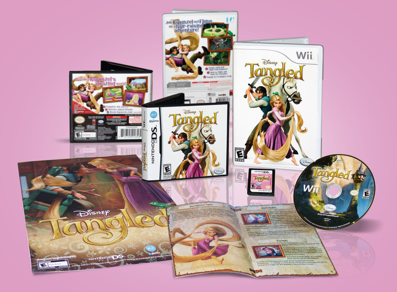 Tangled Multi-Platform Game Packaging