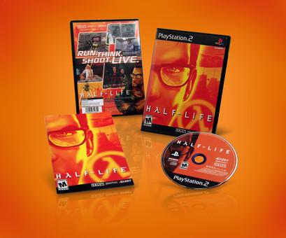 Half-Life PS2 Packaging