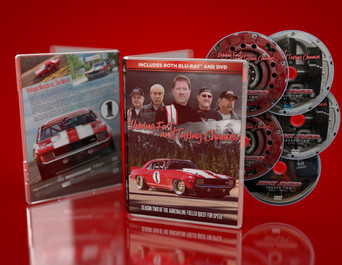Big Red: Driving Fast And Taking Chances DVD