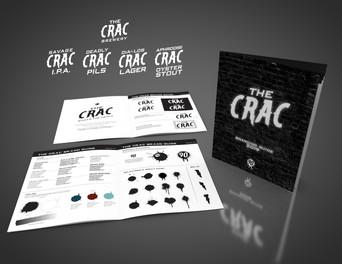 The Crac Brewery Branding
