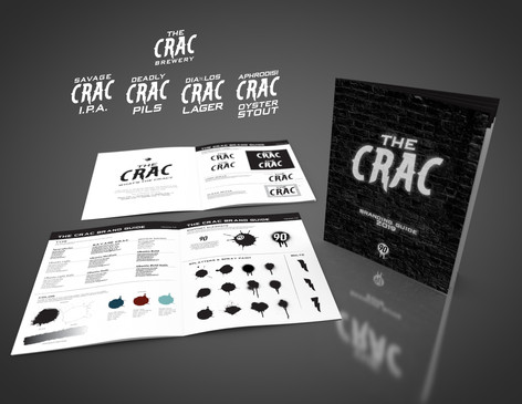 The Crac Brewery Branding