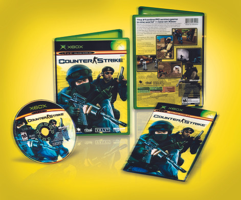 Counter-Strike Xbox Packaging