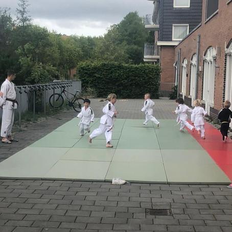 Judo op 1,5 m afstand