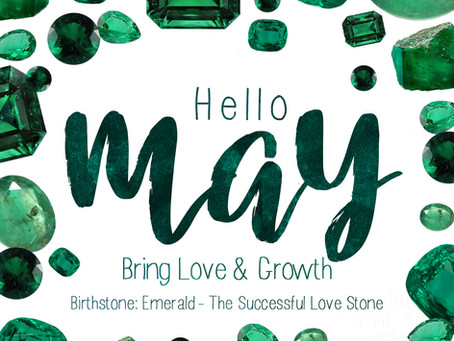 May Birthstone - Glorious Green Emerald