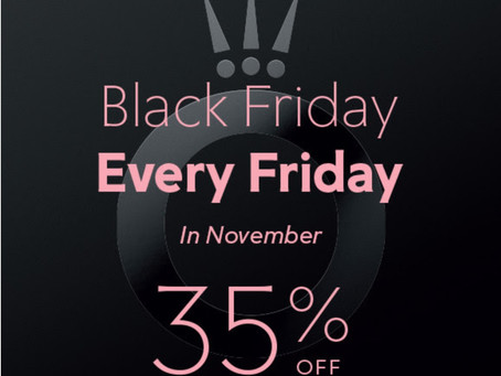 Shop Pandora Every Friday in November
