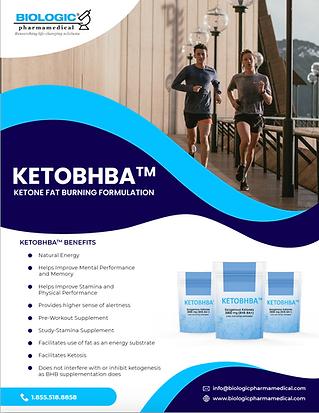 Ketone Fat Burning Formulation