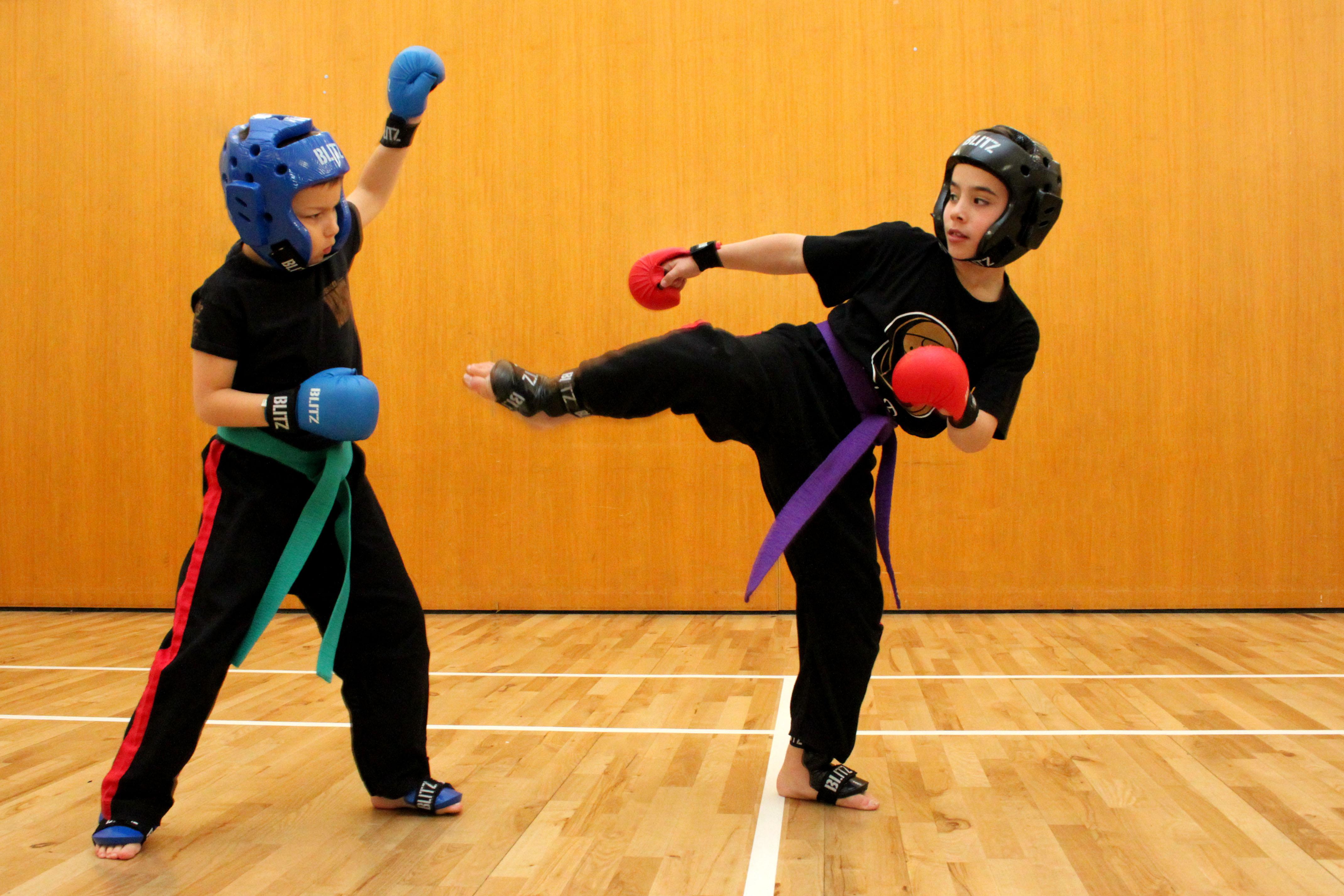 Sparring Combat Kids
