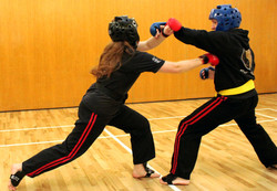 Male & Female Sparring