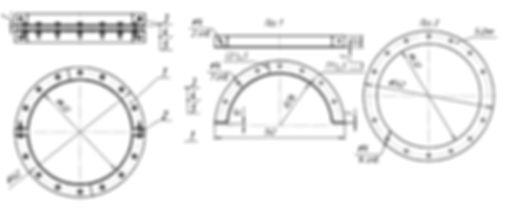 Производство металлоизделий | прокладки овального сечения по ОСТ, кольца армко