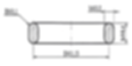 Размеры прокладок овального сечения по ОСТ 26.260.461-99