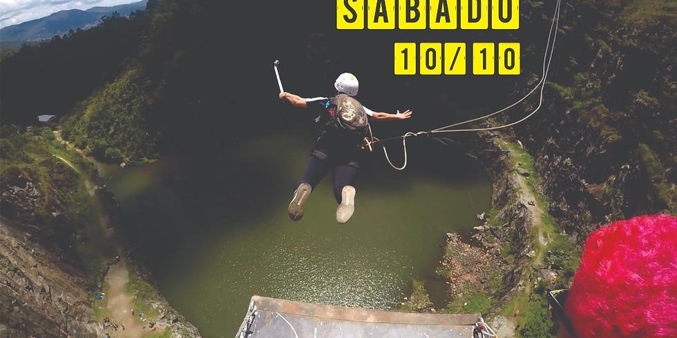 Rope Jump 70 Metros no DIB - Sábado