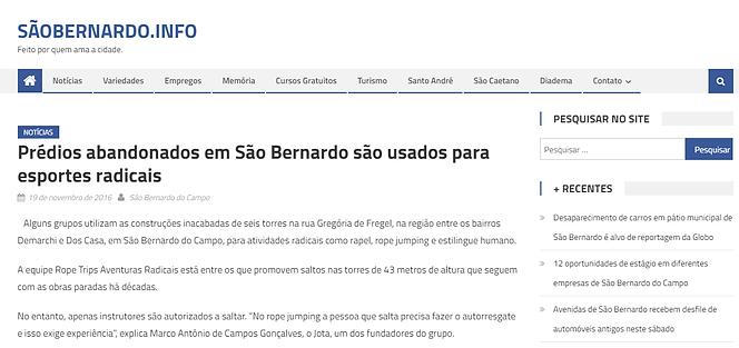 São Bernardo . Info