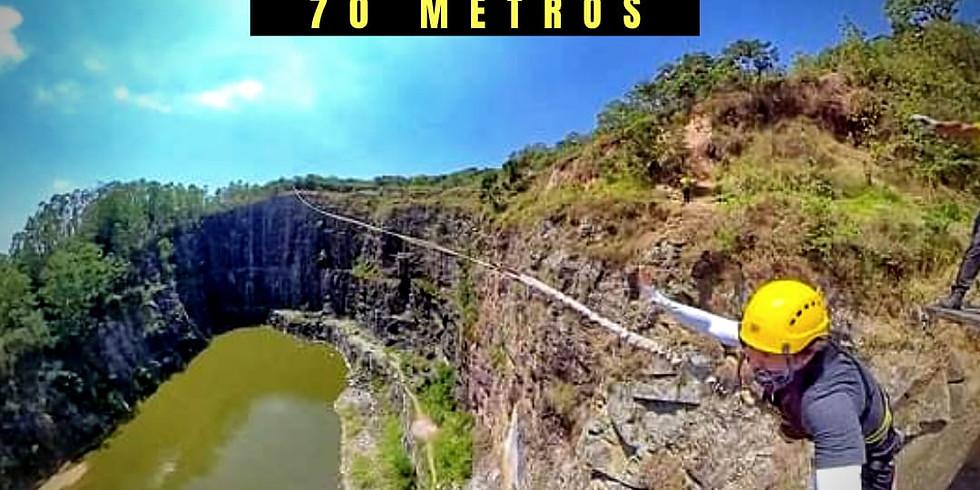 Rope Jump 70 Metros no DIB - Sexta Feriado