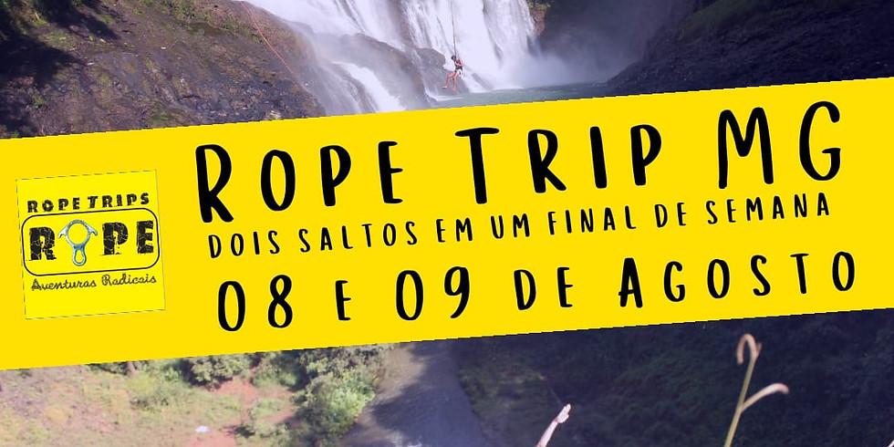 Sexta Rope Trip MG - Dois saltos em um Final de Semana