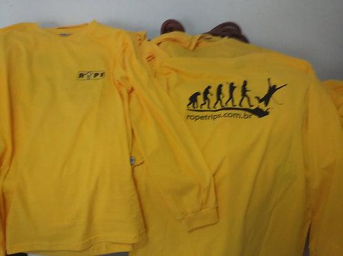 Camiseta Evolução Manga Longa