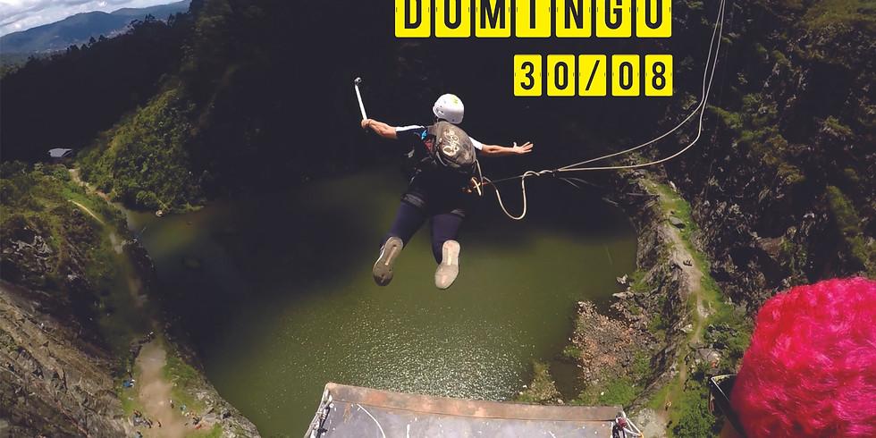 Rope Jump 70 Metros no DIB - Domingo