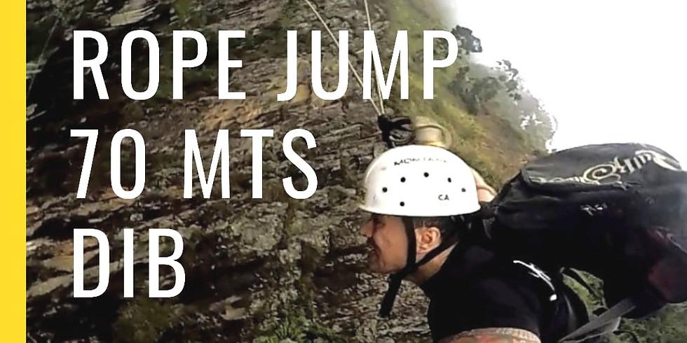 Rope Jump 70 Metros no DIB