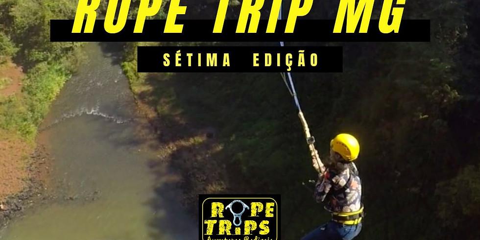 Sétima Rope Trip MG - Dois saltos em um Final de Semana
