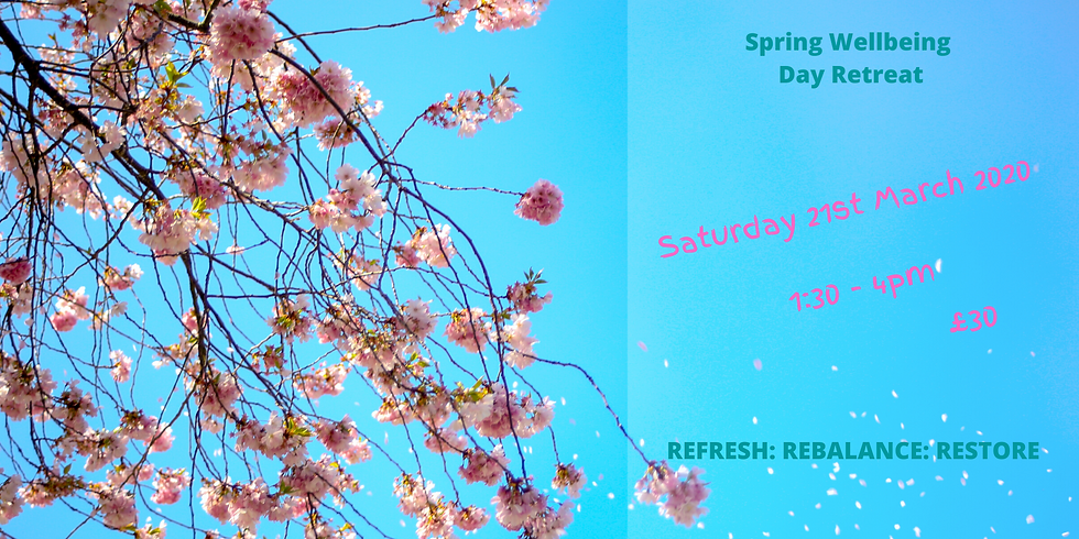 Spring Wellbeing Day Retreat - St. Aidens Hall