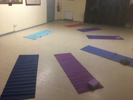 Yoga Class Lay out for a change