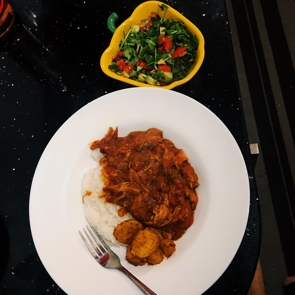 This warm, lightly spiced punjabi curry it a perfect mid week meal.