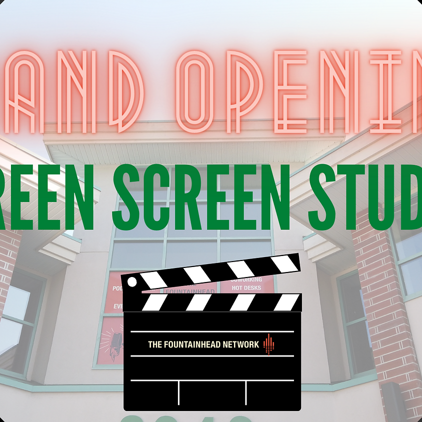Green Screen Studio GRAND OPENING in the Tri-Cities