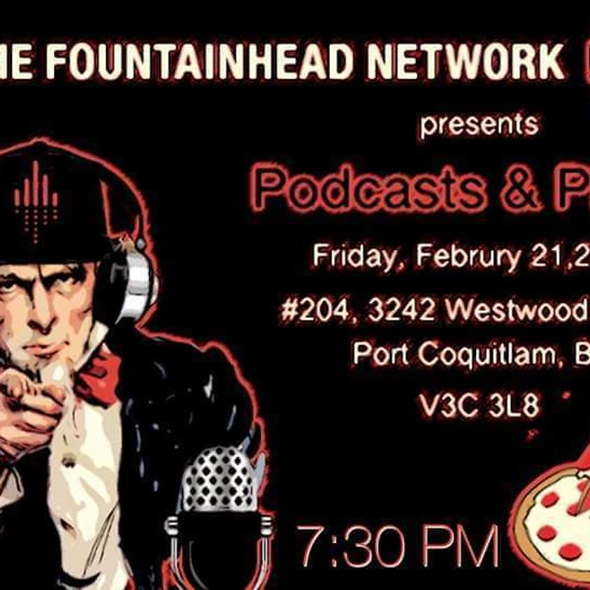 POSTPONED *Podcasts & Pizza* TBA