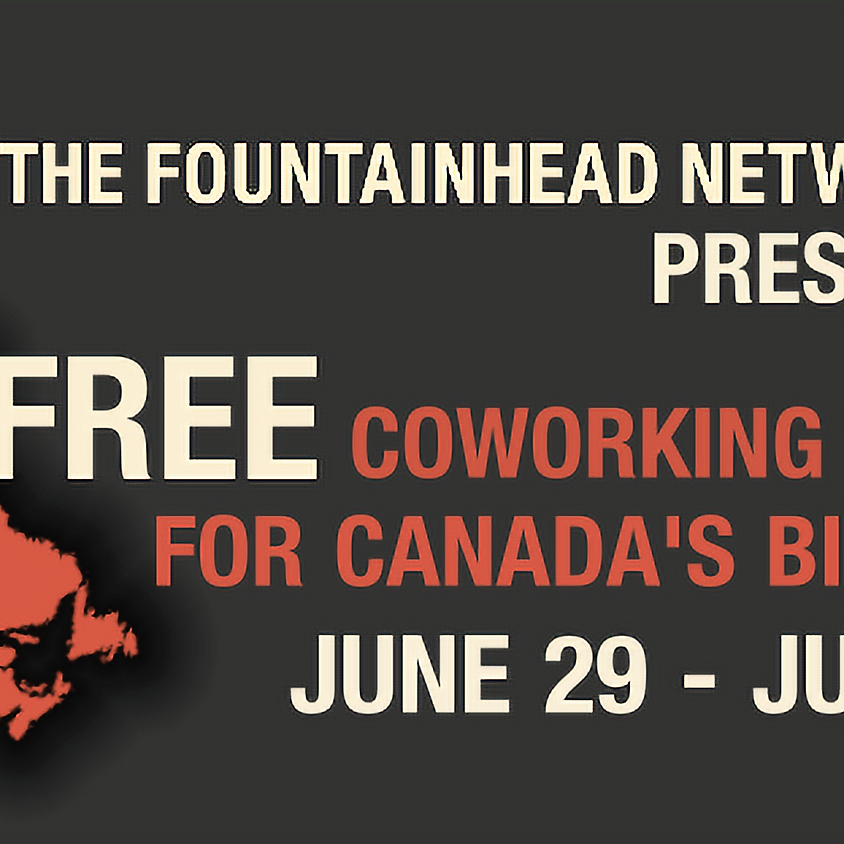 FREE Coworking Week for Canada's Birthday!