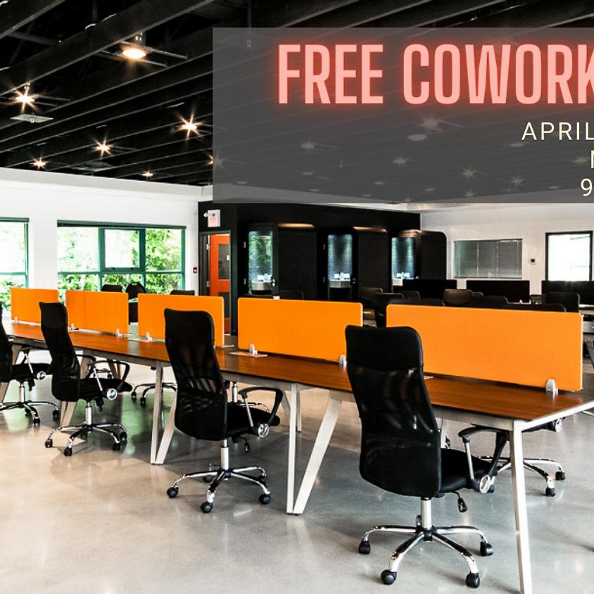 FREE Coworking Week at TFN: April 12th - 16th