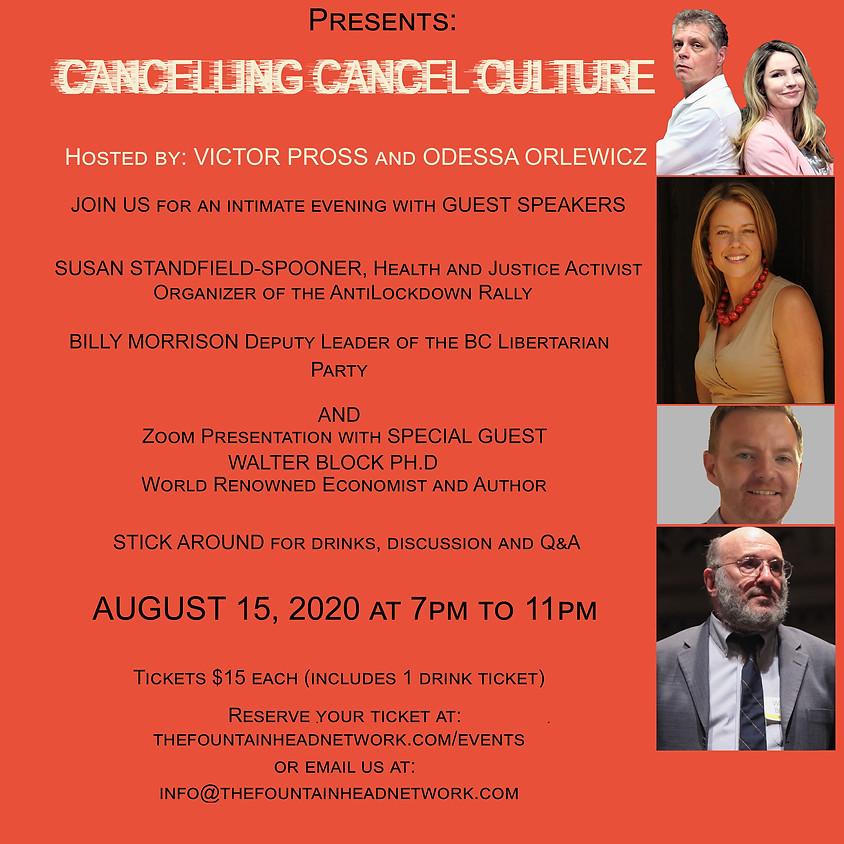 Liberty Talk Canada - Cancelling Cancel Culture