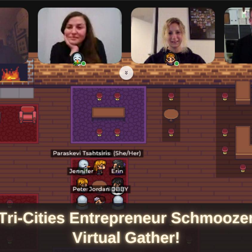Tri-Cities Entrepreneur Schmoozer – Virtual Gather!