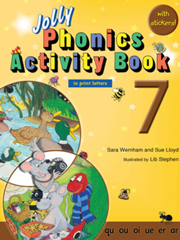 Jolly Phonics Activity Book 7 (US / in print letters)