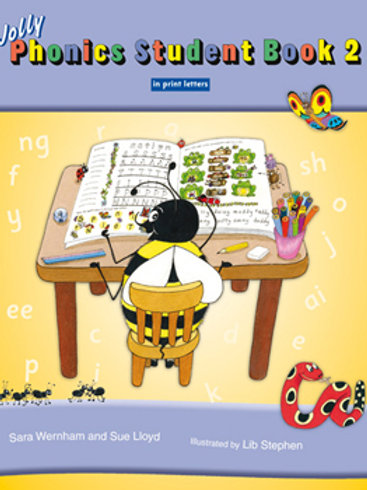 Jolly Phonics Student Book 2  (color edition / US / in print)