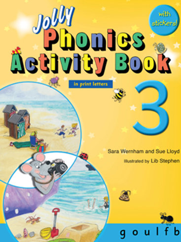 Jolly Phonics Activity Book 3 (US / in print letters)