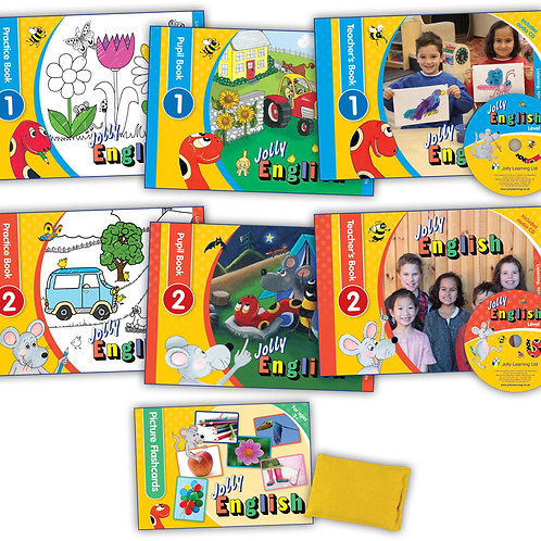 Jolly English Teacher's Kit (without puppets)