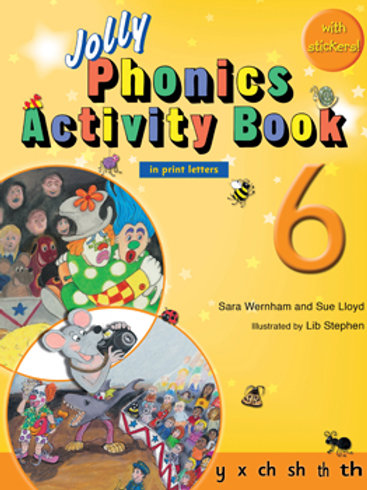 Jolly Phonics Activity Book 6 (US / in print letters)