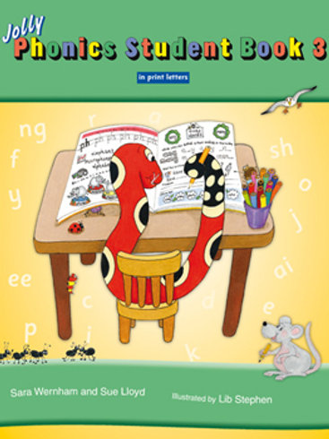 Jolly Phonics Student Book 3  (color edition / US / in print)