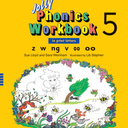 Jolly Phonics Workbook 5 (US / in print letters)