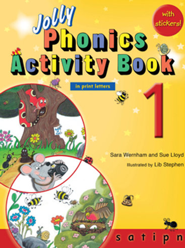 Jolly Phonics Activity Book 1 (US / in print letters)