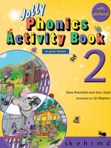Jolly Phonics Activity Book 2 (US / in print letters)