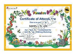 Phonics Training Certificate