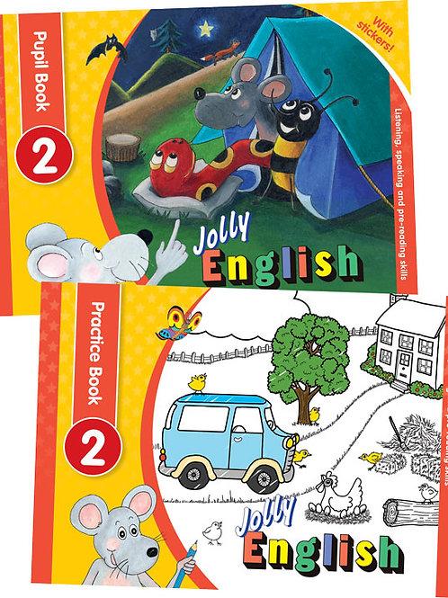 Jolly English Level 2 Pupil Set