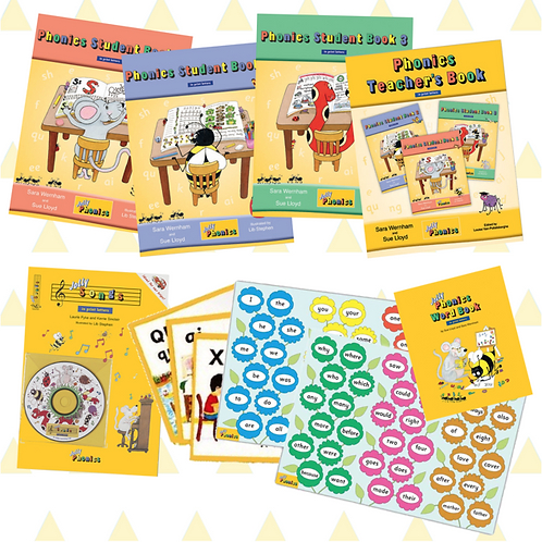 Jolly Phonics Basics