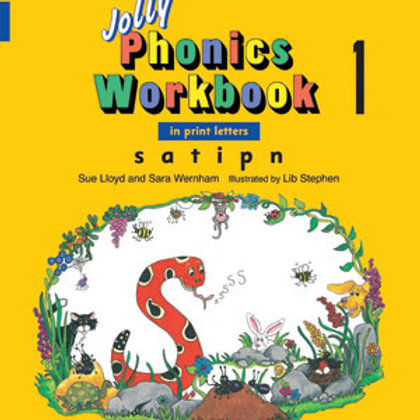 Jolly Phonics Workbook 1 (US / in print letters)