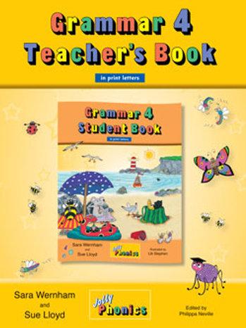Grammar 4 Teacher's Book (in print)/グラマー4ティーチャーズブック(in print)
