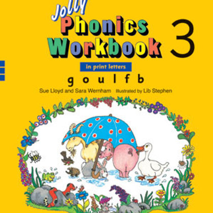 Jolly Phonics Workbook 3 (US / in print letters)